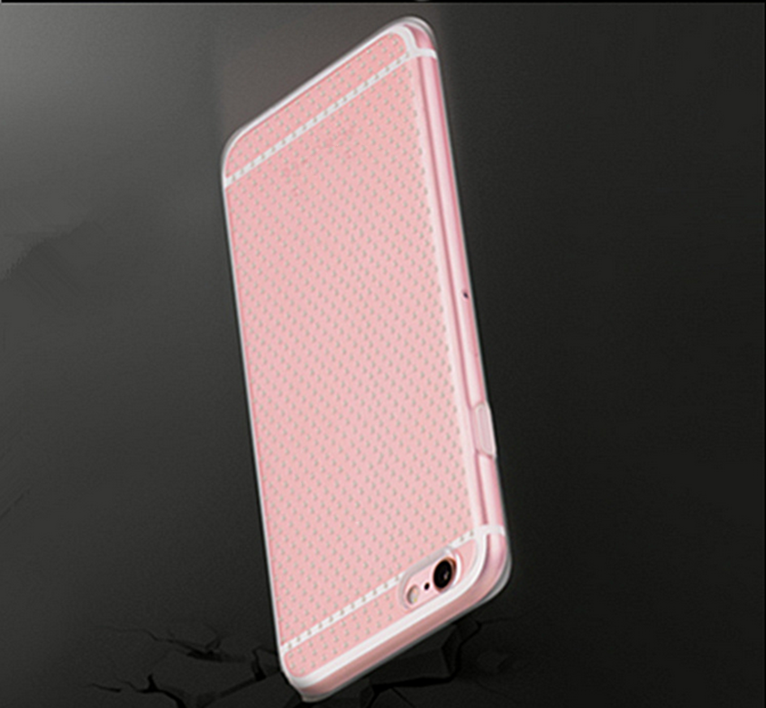 High class fashion accessories transparent phone case tpu shockproof case for iphone5/6/6plus for samsung s7 edge
