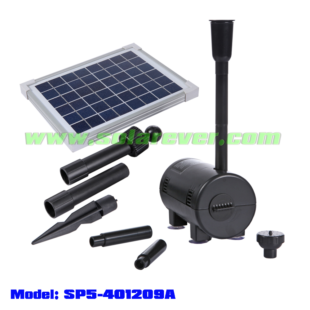 Solar Powered Water Pump (SP5-401209A)