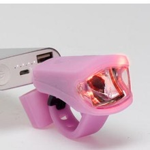 silicone bicycle light Promotion Silicone Samll Led Bicycle light