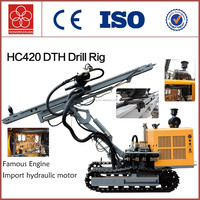 HC420 crawler types of drilling machine portable rock drilling machine for sale