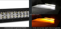 24Inch 120W amber/white Led Light Bar Flood Spot Combo Work Lights 4WD UTE Offroad Car Boat