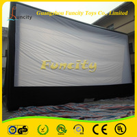 2016 Custom Giant Inflatable Movie Screen, Inflatable Projection Screen, Inflatable Rear Projection Screen