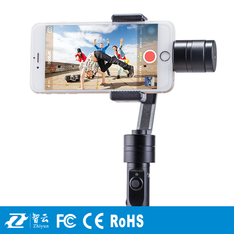 2016 Newest Zhiyun Smooth C Camera gimbal 3 axes Handheld Gimbal for iOS Android S5 S6 Smartphone
