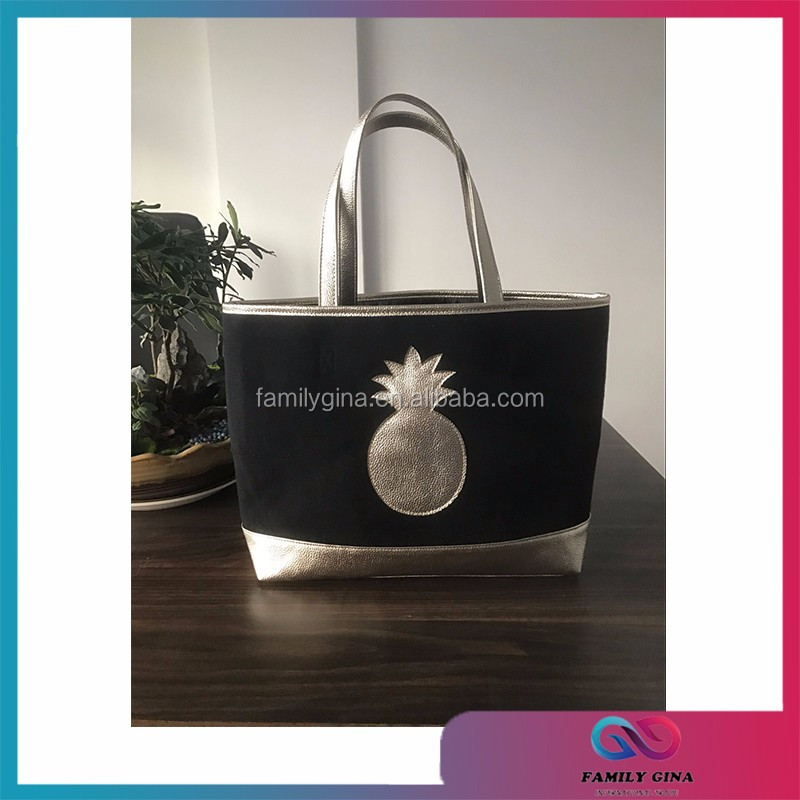 Wholesale Monogrammed Fashion Pineapple Bridesmaid Bag
