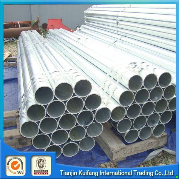 Professional hot dip galvanized water line pipe with CE certificate