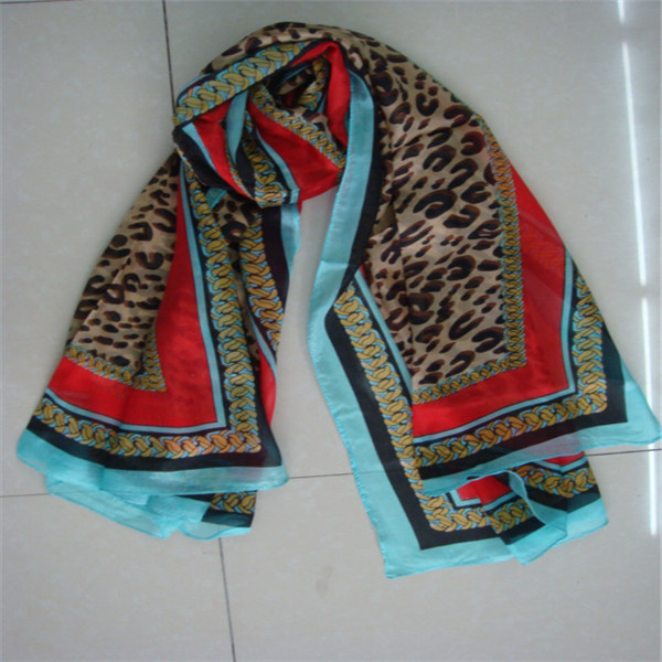 Genuine 100% Silk Scarf made in india