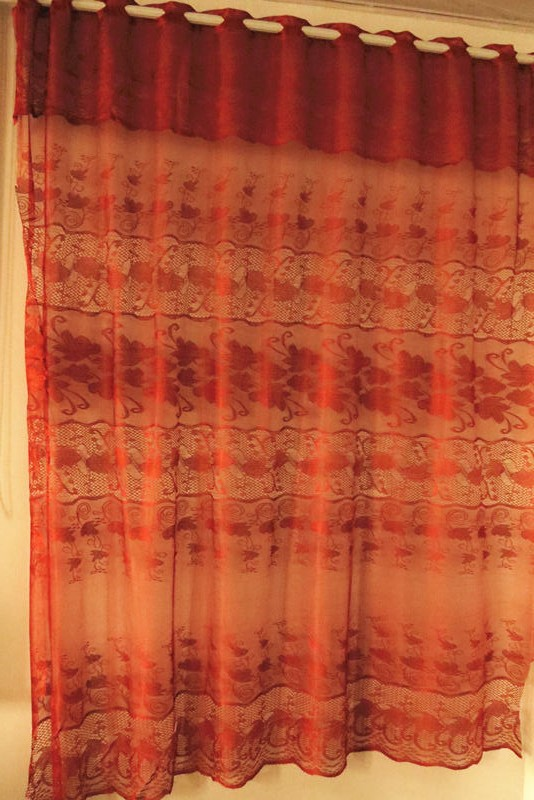 New Fashion Style Jacquard Fabric Curtain Design for home use