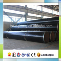 underground water drainage pipeline use pe coated pipe with API carbon steel pipe