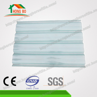 Wholesale High light-transmittance transparent plastic roof shingles