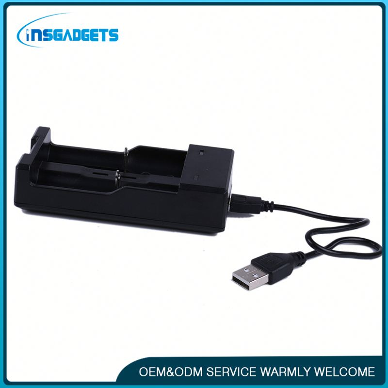 External battery portable dual usb charger ,h0tQ2S 18350 battery charger for sale