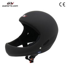 Carbon fiber classic flying helmet with strap sign safety paragilding open face