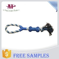 Pet cotton chew rope toy