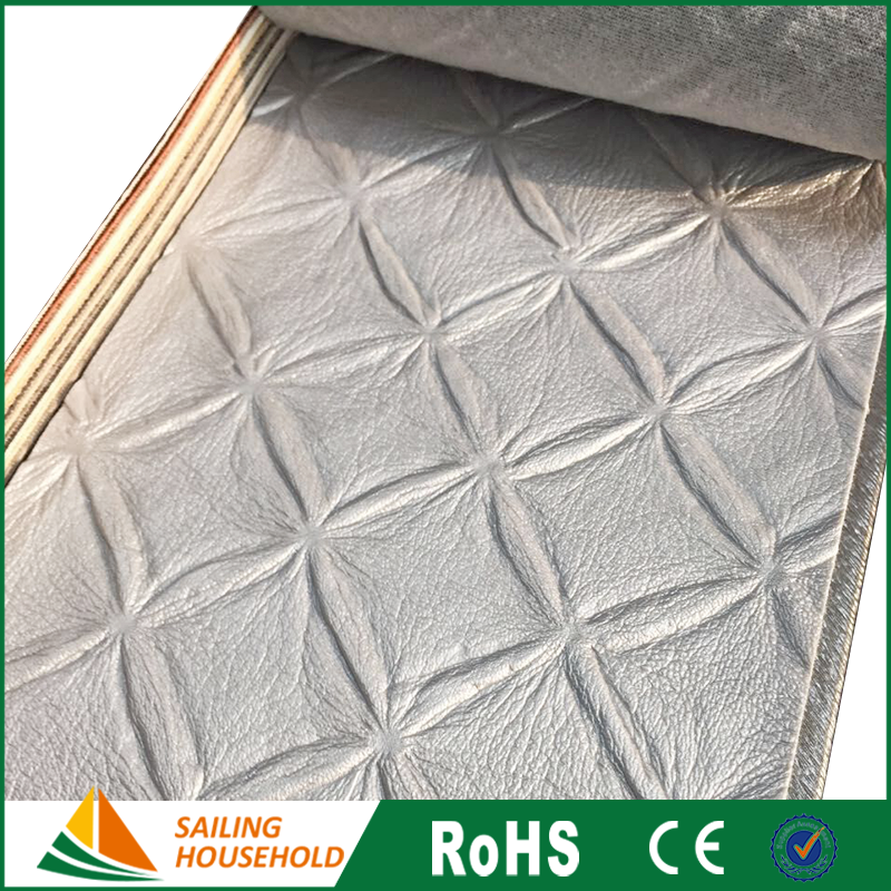 OEM Logo leather fabric for making bags, synthetic leather good, luxury leather upholstery