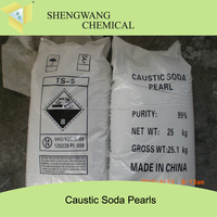 caustic soda flakes 99 96 making machine in China chemical formula specifications NaOH soda caustic