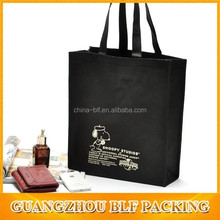 (BLF-NB271)small black cheapest non woven bag