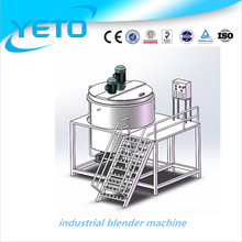 GMP standard 5T industrial blender machine, dishwashing liquid machine,chemixal agitator tank