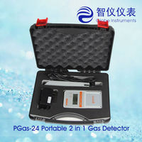 PGas-24-O2 Multifunctional Flammable automotive exhaust gas analyzer automobile emission gas analyzer with high quality