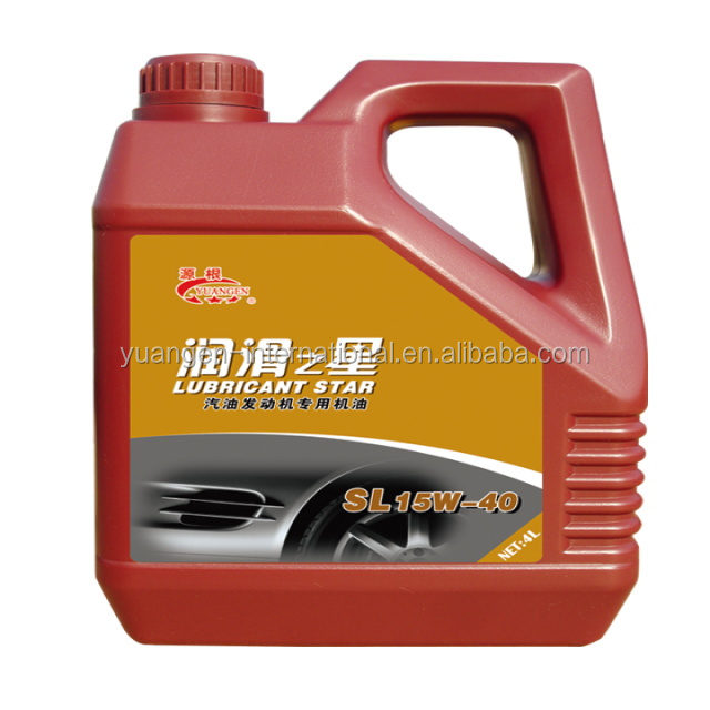 new design 4L general international combustion engine oil 15w40 SL/CF motor lubricant oil
