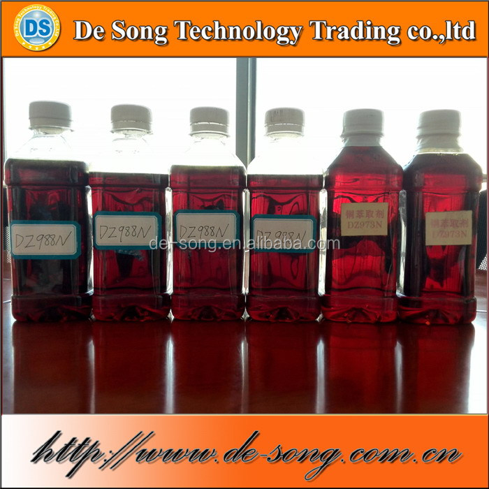 Chemical reagent copper leaching extract solvent
