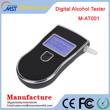 Professional Police Digital Breath Alcohol Tester Breathalyzer AT818 electronic police breath alcohol tester