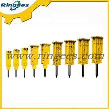 factory direct sale Krupp Hydraulic excavator breaker hammer for HM60/75 , chisel Diameter 55MM *length 590MM