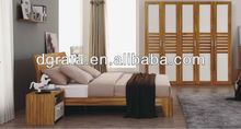 2013 best selling king size bedroom furniture suite was made from E1 MDF board