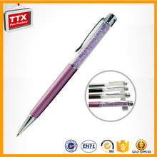 Top Popular Promotional single pen,lady gift crystal pen