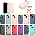 2 in 1 Hard shockproof TPU PC hybird case for iphone 8