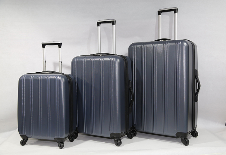 Factory Lightweight abs travel luggage cases