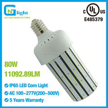 80w corn cob e39 mogul base replace 320w metal halide canopy bulb lamp in Carpark Garage gas station