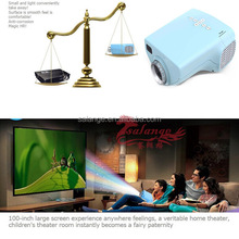 Lowest Price LED digital video game hd projectors Native 320*240 Multimedia interface inputs AV VGA USB SD TV EF projector