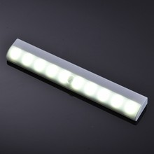 1W Portable 10 led smart sensor automatic night light