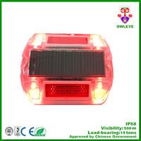 led blue solar flashing lights/solar light