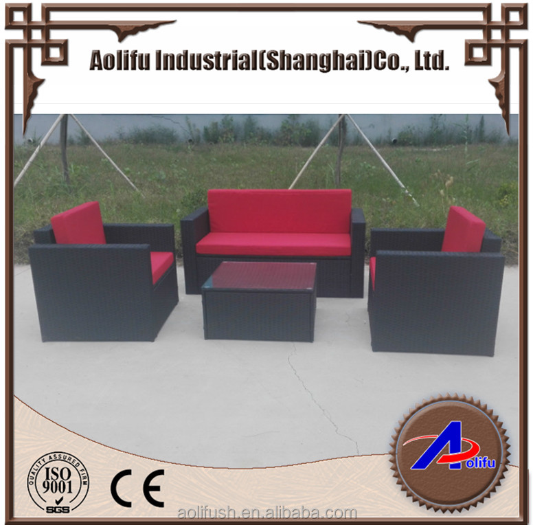 Outdoor garden relax rattan furniture leisure garden sofa set