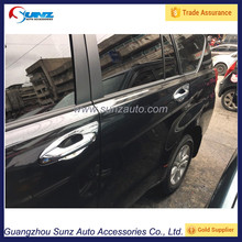 Toyota Innova 2016 Car ABS Rubber Chrome Door Handle Cover