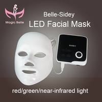 Beauty equipment!red/Green/near-infrared light of personal care led facial mask machine