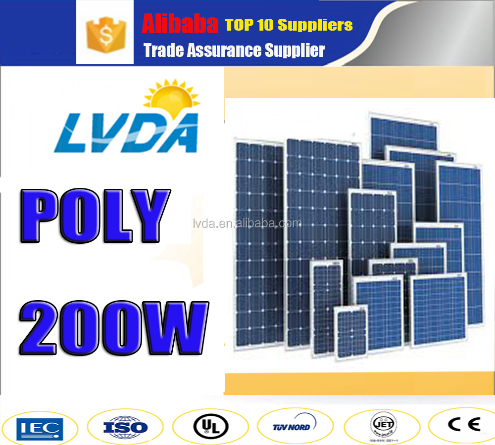 2016Hot Sale! solar pv panels poly solar panel 100w 150w 200w 250w 260w 300w 310w 320w