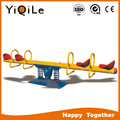 YIQILE outdoor playground seesaw four seats made in Guangzhou China