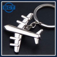 Personalised Airplane Keyring for Ideal Gift