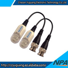 Hot selling High quality Long-distance White Color Passive CCTV video balun