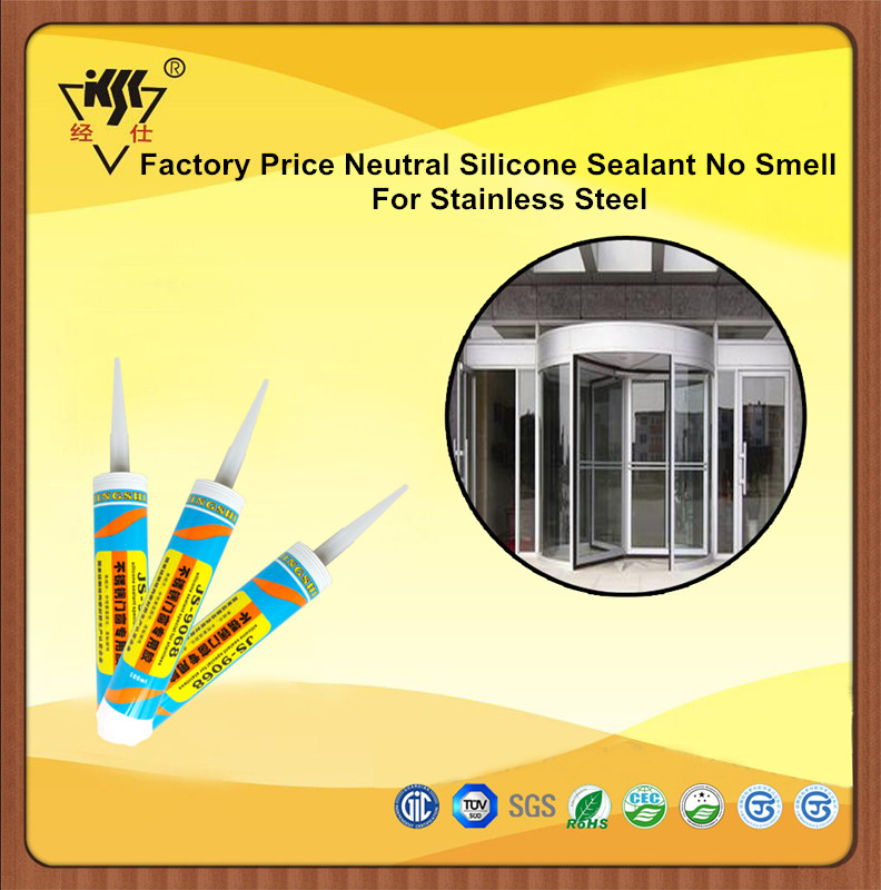 Factory Price Neutral Stainless Steel Silicone Sealant No Smell