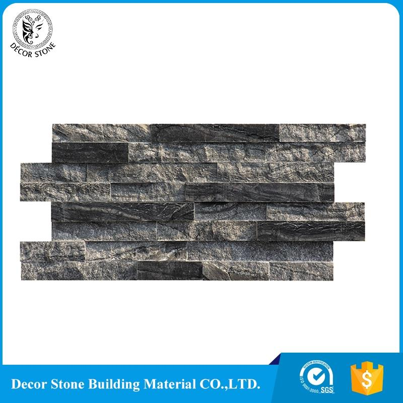 Chinese ancient wood vein marble cultured stone panel manufacturer