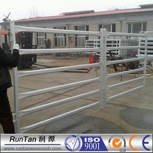 wholesale galvanized used horse panel / portable horse stall / flexible horse fence