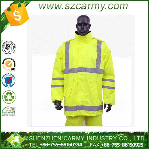 Safety motorcycle security jacket with 3M reflective tapes