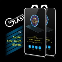 2016 Hot Sales 9H 0.3mm 2.5D Premium Tempered Glass Screen Protector Film for Alcatel One Touch Elevate