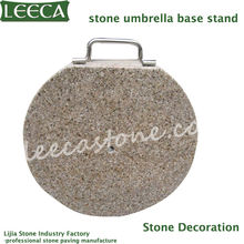 Umbrella stand granite stone
