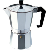 Hot Sale Italy Styles Aluminum Espresso Drip Hot Moka Coffee Maker
