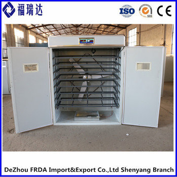 FRDA-2112G New style hatching machine 2112 eggs incubator