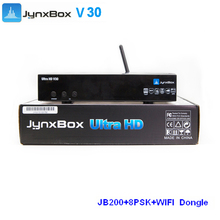 Yes High Definition Stocks for hot selling original Jyaxbox Ultra hd v30 with wifi and jb200 for North america