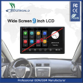 9 inch big screen Android universal truck gps with 5-Way DVR Camera recording/ WIFI bluetooth FM and media players for Russia